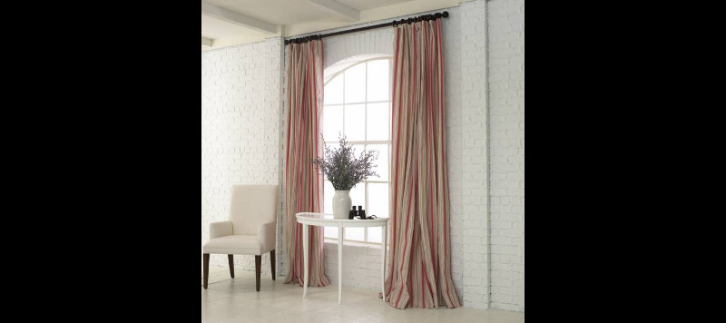 Sitting Area with Drapes
