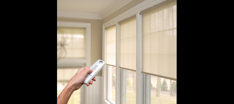 Motorized Window Covers with Remote