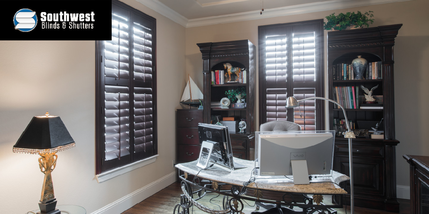 Office Space with Shutters