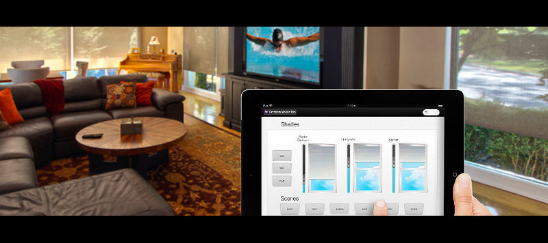 Tablet Controls for Motorized Window Covers