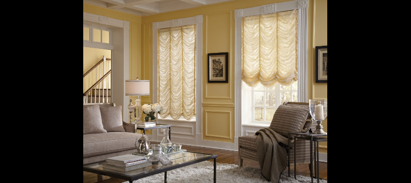 Living Room with Drapes