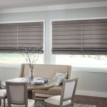Fabric Shades - Dining Room