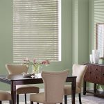 Sheer Shades of Dining Room by Southwest Blinds and Shutters