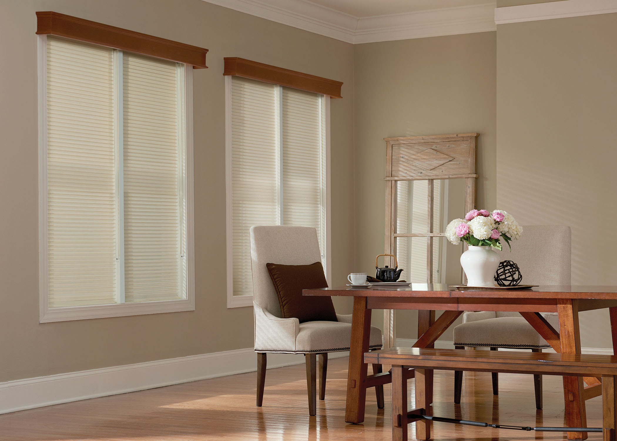Sheer Shades - Dining Room