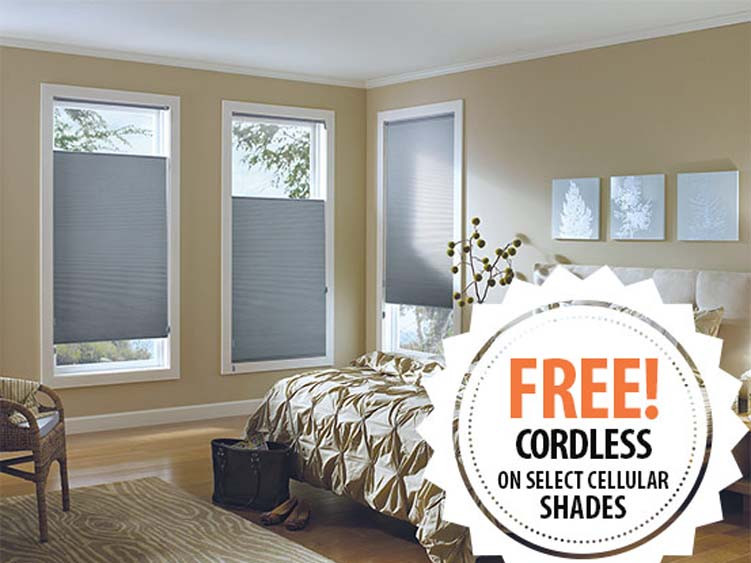 Free Cordless Shades Promotion