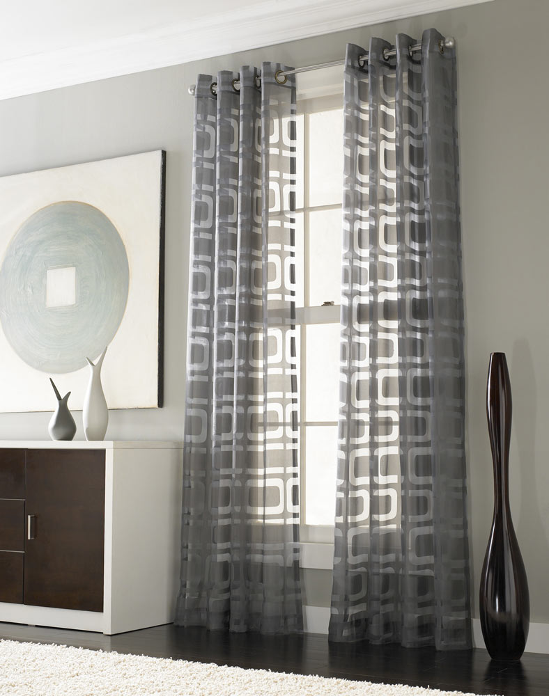 Drapes in Living Area