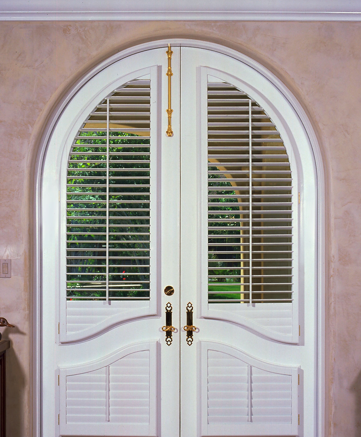 Arch French Door Shutters