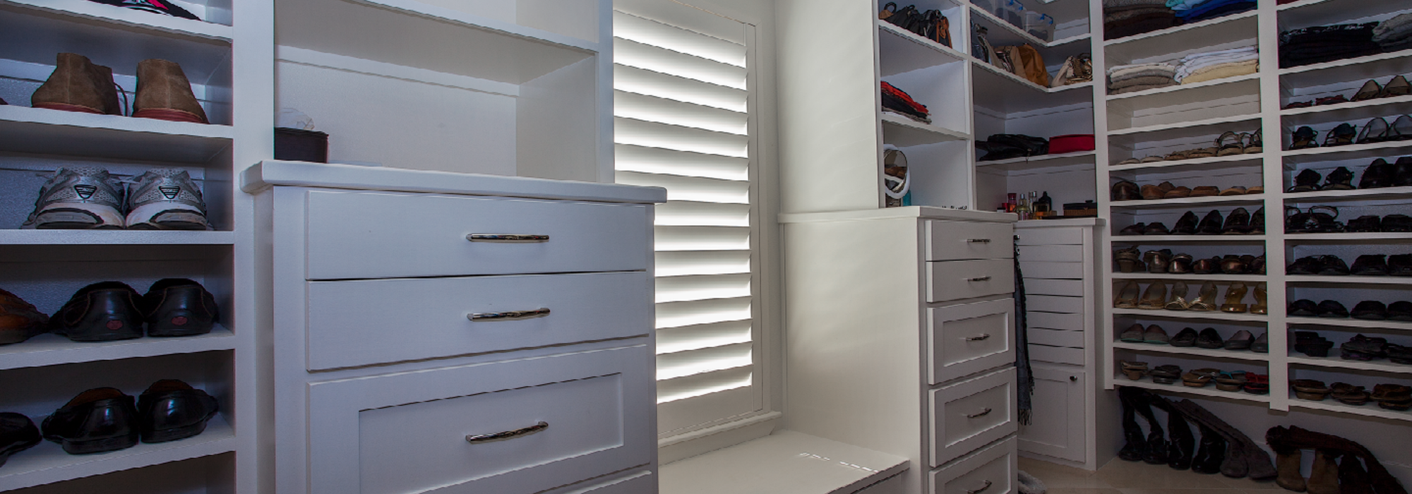 Shutters in Closet by Southwest of Phoenix