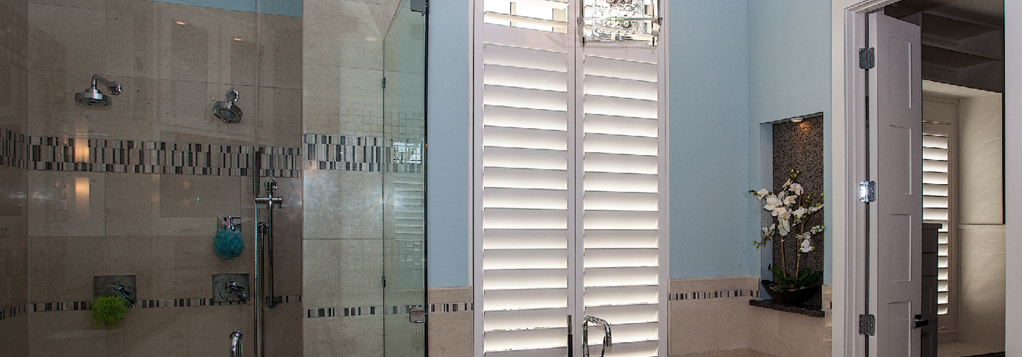 Bathroom Shutters by Southwest Blinds and Shutters in Phoenix