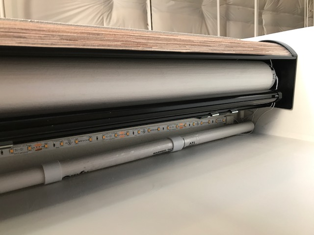 Battery Pack On Roller Shade